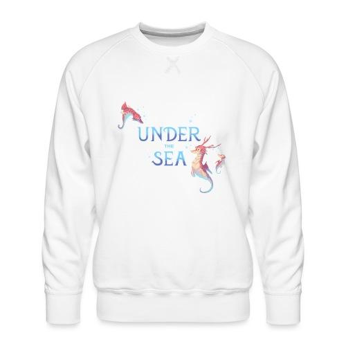 Under the Sea - Hippocampes - Sweat ras-du-cou Premium Homme