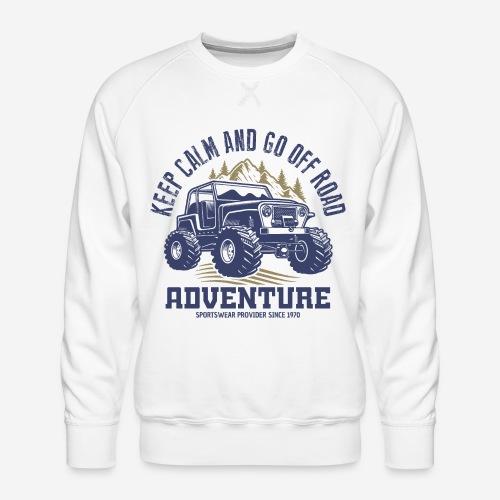 Offroad-Abenteuer Natur - Männer Premium Pullover