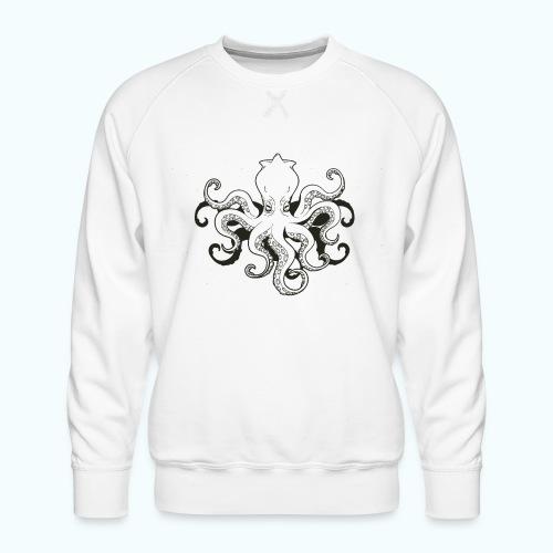 Cartoon octopus - Men's Premium Sweatshirt