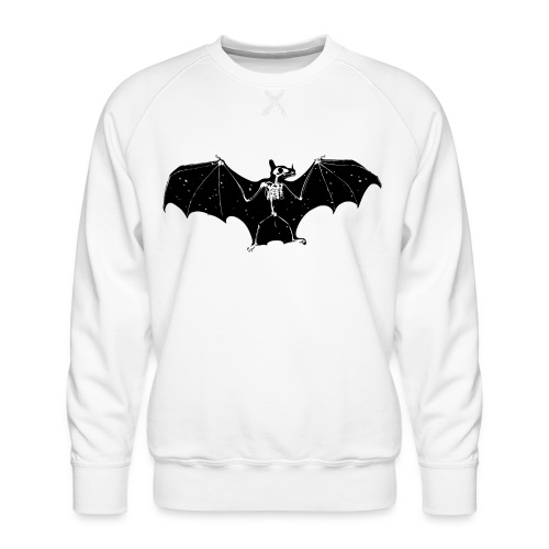 Bat skeleton #1 - Men's Premium Sweatshirt