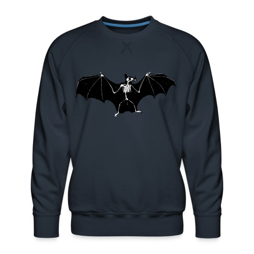 Bat skeleton #1 - Men's Premium Sweatshirt
