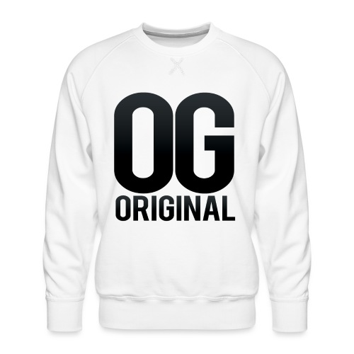 OG as original - Men's Premium Sweatshirt