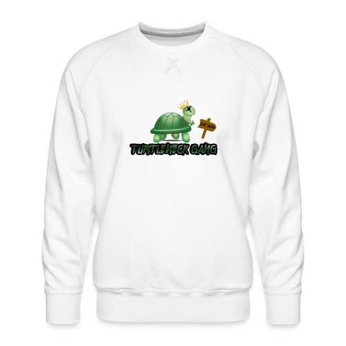 Turtle Neck Design 1 - Men's Premium Sweatshirt