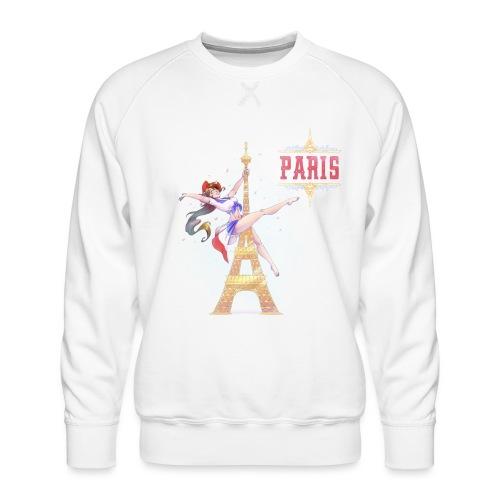 Pole Dance Paris Marianne - Sweat ras-du-cou Premium Homme