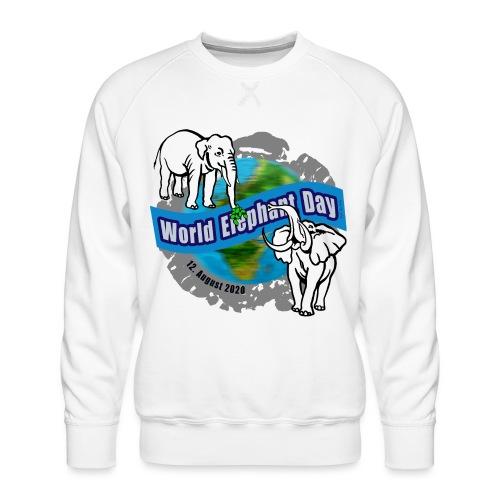 World Elephant Day 2020 - Männer Premium Pullover