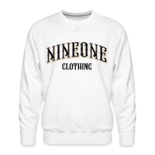 Nineone Classic Style 01 white - Männer Premium Pullover