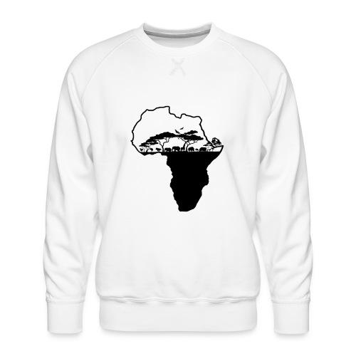 Afrique Savane - Sweat ras-du-cou Premium Homme