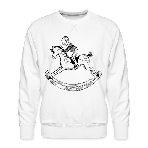 konik na biegunach - Bluza męska Premium