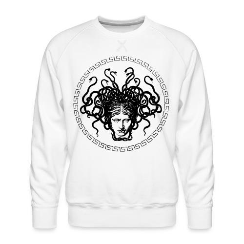 Medusa - Sudadera premium para hombre