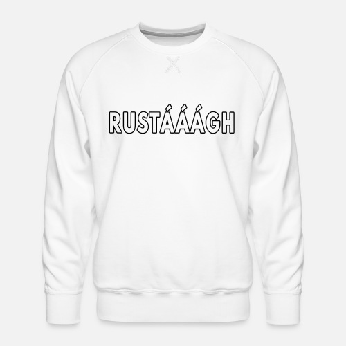 Rustaaagh Blijven! - Mannen premium sweater