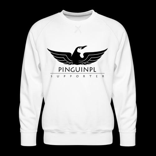 zwolennikiem Blackline - Bluza męska Premium