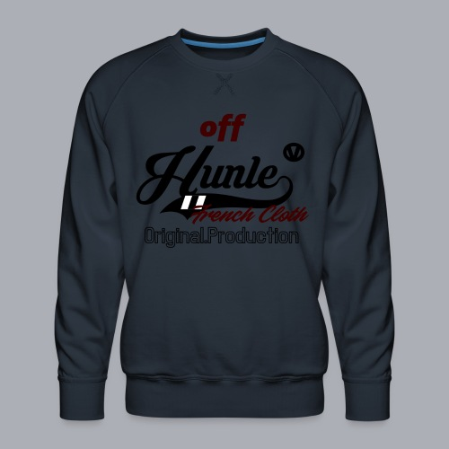 Hunle Veritable Collection n°2 - Sweat ras-du-cou Premium Homme