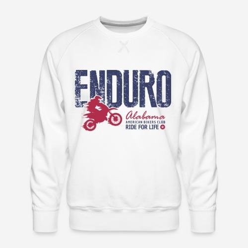 Enduro Motorrad - Männer Premium Pullover