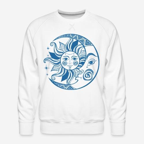Sonnenmond Astrologie - Männer Premium Pullover