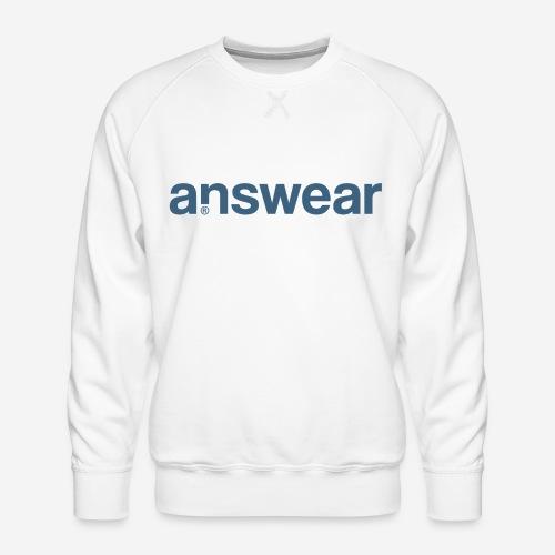 answear Antwortfrage - Männer Premium Pullover
