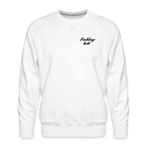 Fuckboykott - Männer Premium Pullover
