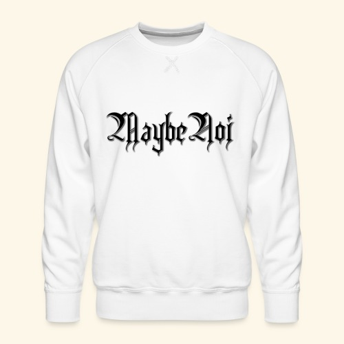 MaybeNoi Design - Männer Premium Pullover