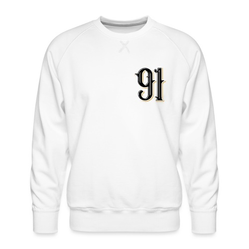 Nineone Classic Style Numbers 01 black - Männer Premium Pullover