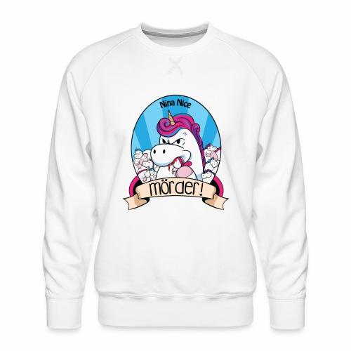 Murder Unicorn - Männer Premium Pullover
