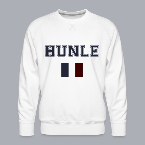 hunle French Collection n°1 - Sweat ras-du-cou Premium Homme