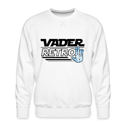 Vader Retro! - Felpa premium da uomo