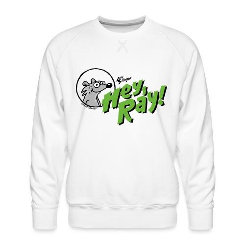 Hey Ray Logo green - Männer Premium Pullover