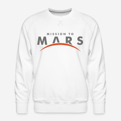 Mission zum Mars - Männer Premium Pullover