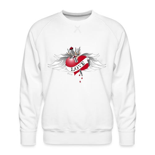 Love Hurts 4- Liebe verletzt - Männer Premium Pullover