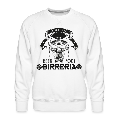 Classic Birreria Rock Skull - Männer Premium Pullover