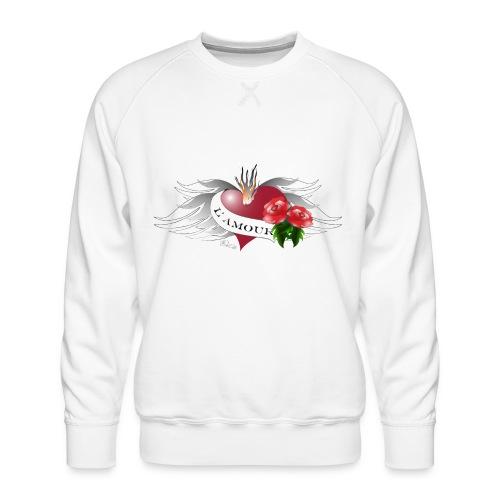 L' Amour - Die Liebe - Männer Premium Pullover