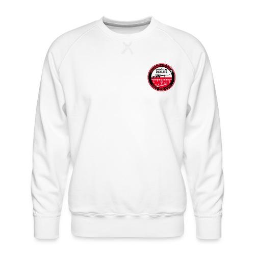 Emblemat Pracuje zdalnie - Akademia Wywiadu™ - Bluza męska Premium