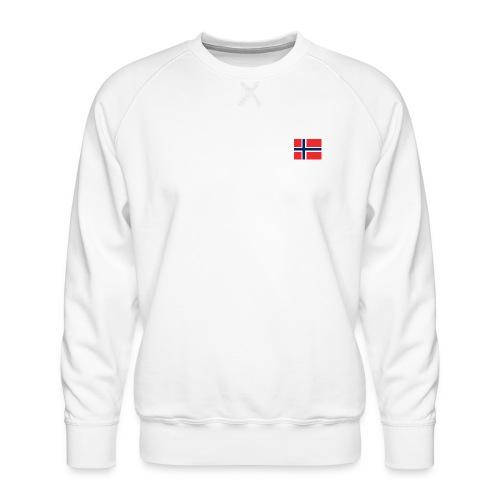 Bandera de Noruega - Sudadera premium para hombre