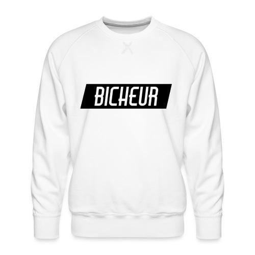 Bicheur logo - Sweat ras-du-cou Premium Homme