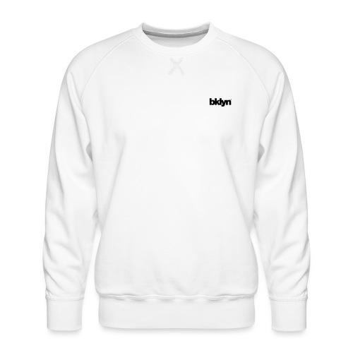 bklyn / jazz - Men's Premium Sweatshirt