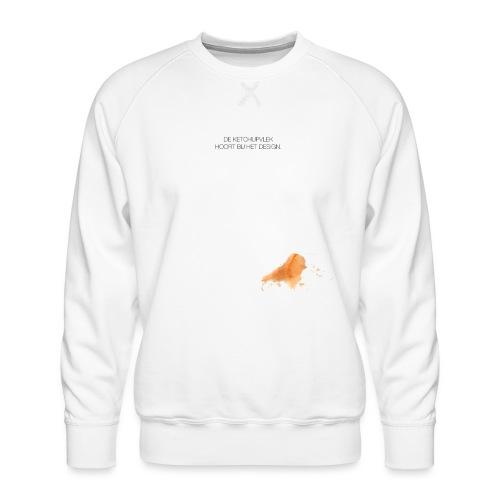 Ketchupvlek - Mannen premium sweater