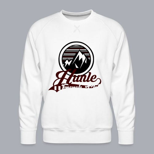 Hunle Graphic Mountain N°1 - Sweat ras-du-cou Premium Homme