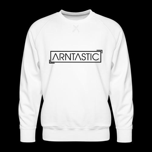 ARNTASTIC LOGO schwarz - Männer Premium Pullover