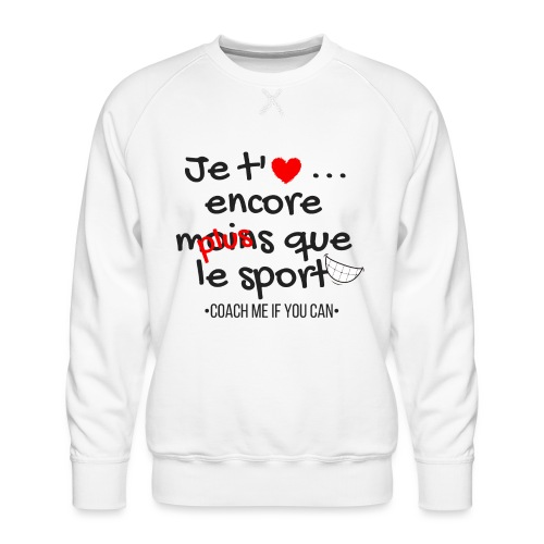 Saint Valentin - Sweat ras-du-cou Premium Homme