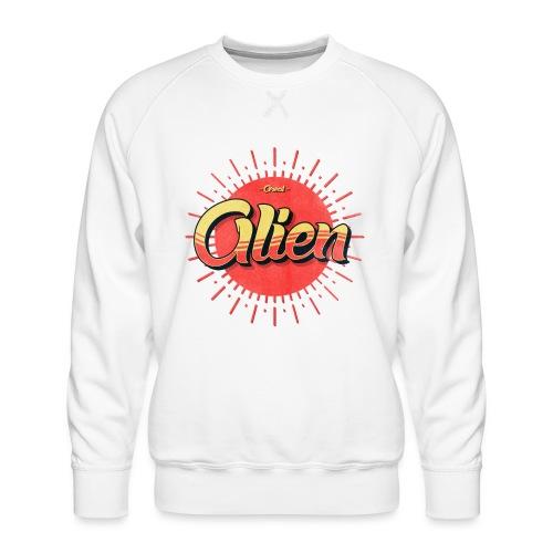 Alien Vintage Logo - Premium-genser for menn