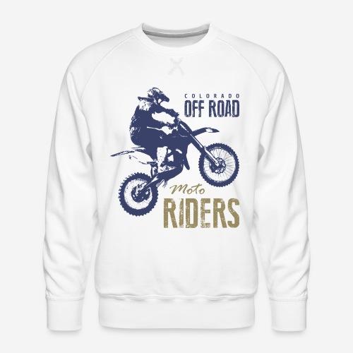 Motorrad Offroad Fahrer Biker - Männer Premium Pullover