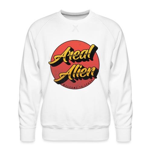 Alien Rusty Vintage Logo - Premium-genser for menn