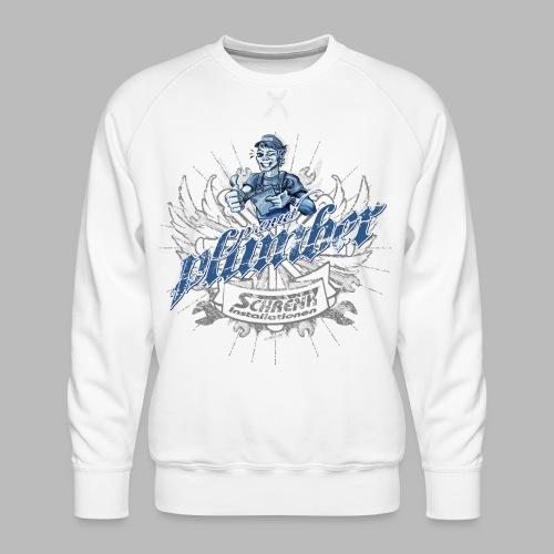 ProudPlumberPatch 2020 / Logo-Druck - Männer Premium Pullover
