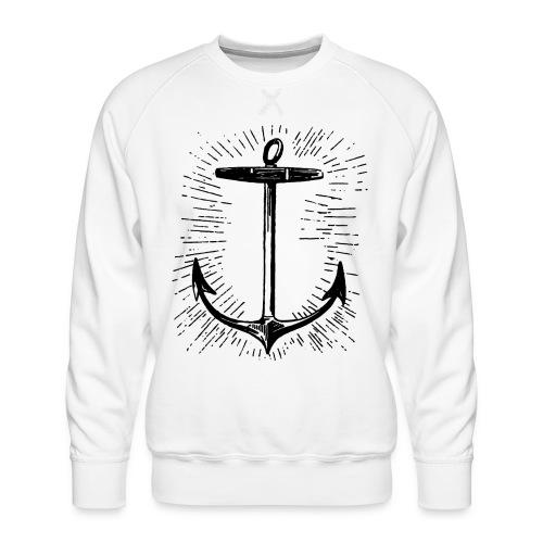 anchor - Men's Premium Sweatshirt