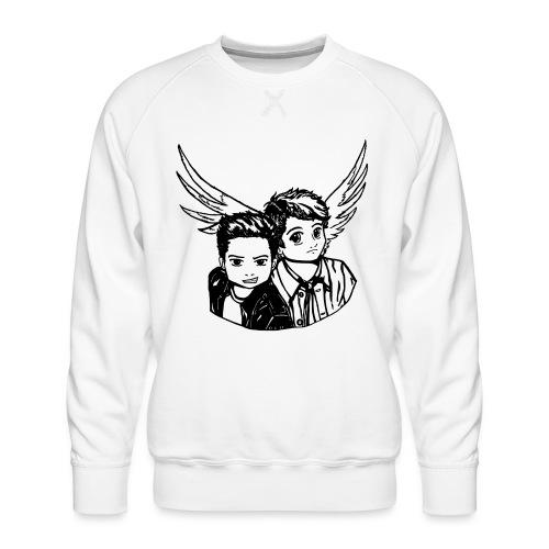Destiel (Silhuet) - Herre premium sweatshirt
