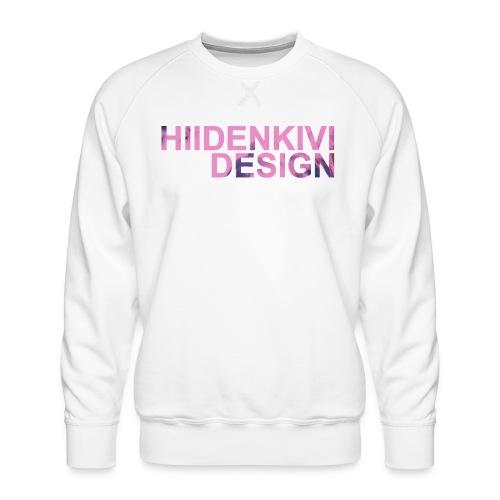Hiidenkivi-Color - Men's Premium Sweatshirt