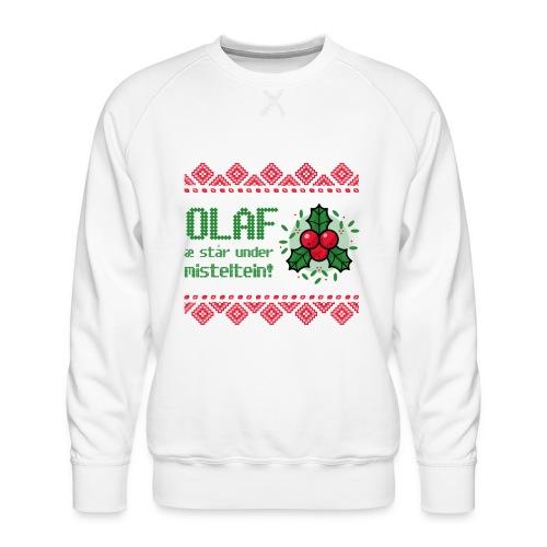 Stygg julegenser - Premium-genser for menn