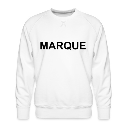 MARQUE - Sweat ras-du-cou Premium Homme