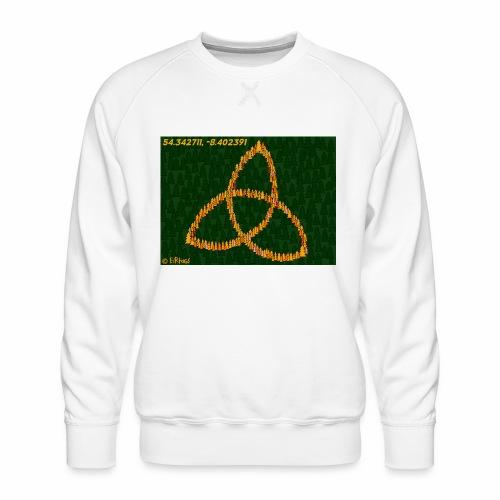 Trinity Knot design - Men's Premium Sweatshirt