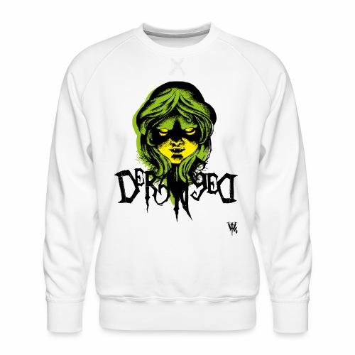 DerangeD - Tattoo Metal Horror Vampire - Herre premium sweatshirt