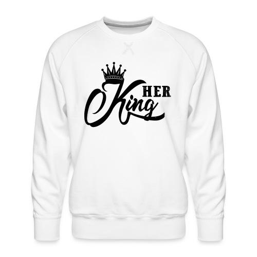 Her King Pärchen Paar Partnerlook - Männer Premium Pullover